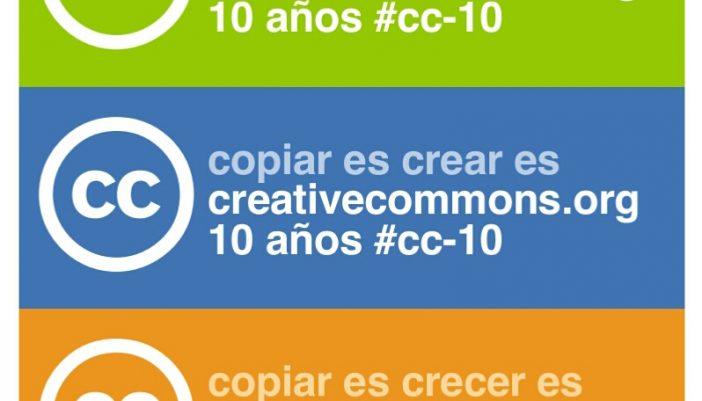 Festejamos los 10 años de Creative Commons