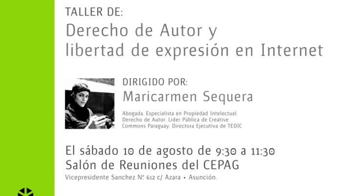 Derecho de autor y libertad de expresión.