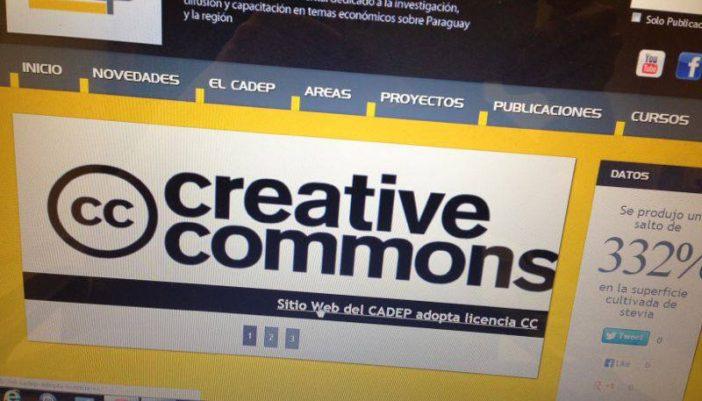 CADEP con licencia Creative Commons