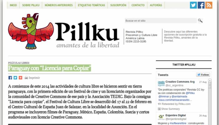 """Paraguay con """"Licencia para Copiar"""" [Entrevista]"""