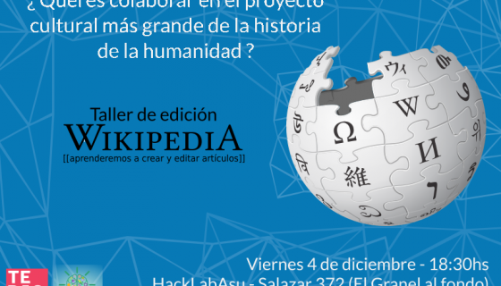 taller wikipedia dic
