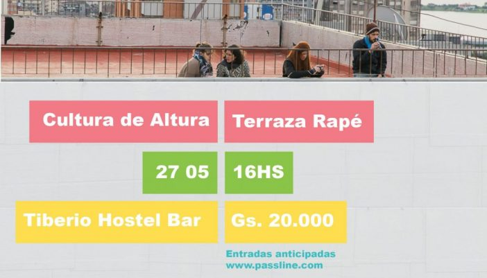TERRAZA RAPÉ – CULTURA DE ALTURA  [Evento]