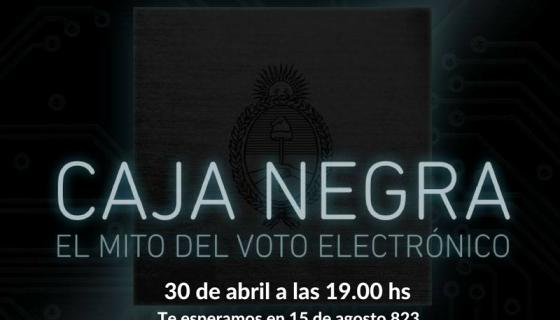Cine CC –  sobre el Voto electrónico [Evento]